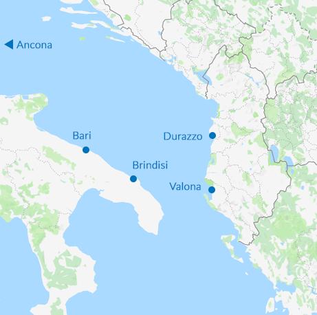 Traghetti Brindisi Valona: Confronta le Migliori Tariffe